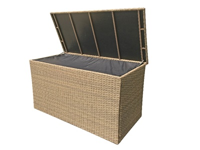 Product photograph showing Large Cushion Box - Sarah