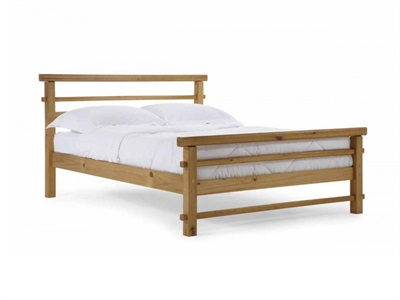 Verona Design Ltd Lecco 3 Single Antique Slatted Bedstead Wooden Bed
