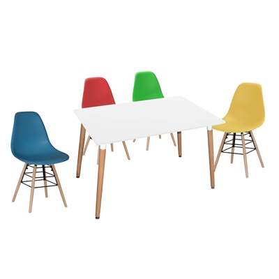Product photograph showing Lilly Rectangle Table