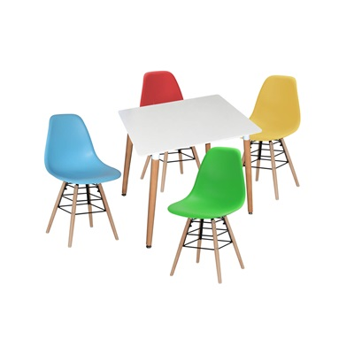 Product photograph showing Lilly Square Table