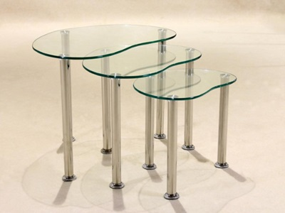 Product photograph showing Logan Nest Of Tables