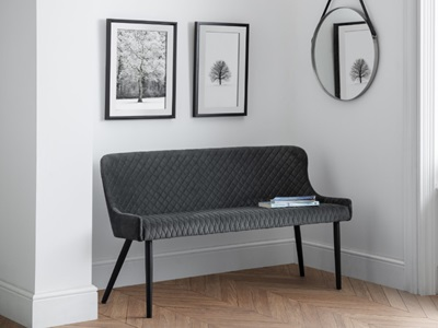 Product photograph showing Luxe High Back Bench