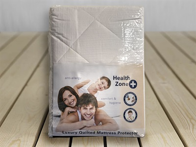 Product photograph showing Luxury Quilted Mattress Protector