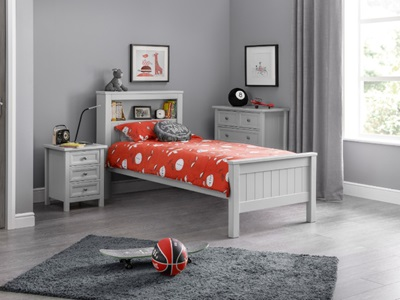Product photograph showing Maine Bookcase Bed