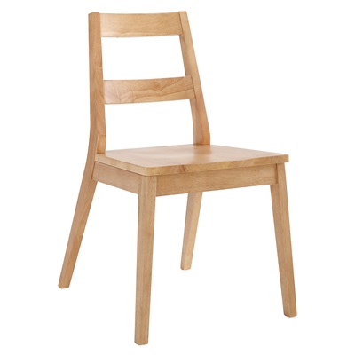 Product photograph showing Malmo Chair White Oak Pack Of 2