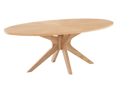 Product photograph showing Malmo Coffee Table