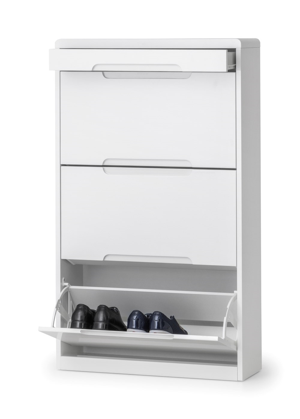 Product photograph showing Manhattan Shoe Cabinet With Drawer