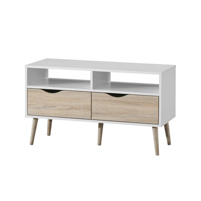 Product photograph showing Mapleton Tv Unit Small