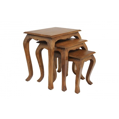 Product photograph showing Marseille Nest Of Tables