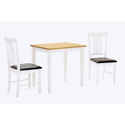 Product photograph showing Massa Small Dining Set With 2 Chairs