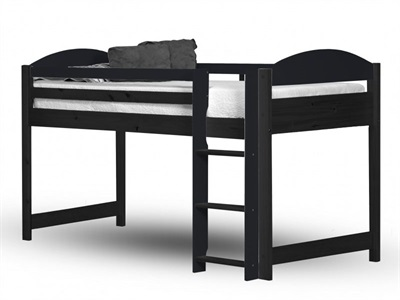 Verona Design Ltd Maximus Mid Sleeper Graphite 3 Single Graphite Mid Sleeper Cabin Bed