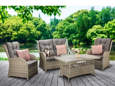 Product photograph showing Meghan Sofa Set