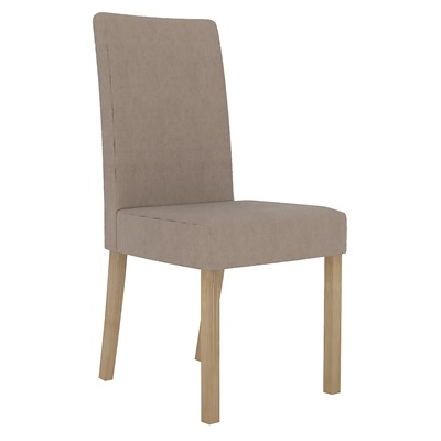 Product photograph showing Melodie Chair Beige Pack Of 2