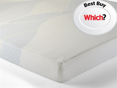 Silentnight Memory 3 Sleep 3 x 66 Special Size Mattress