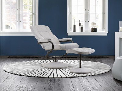 Product photograph showing Memphis Swivel Chair Grey
