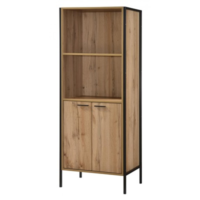 Product photograph showing Michigan Bookcase 2 Doors