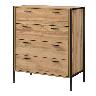 Product photograph showing Michigan Chest 4 Drawer