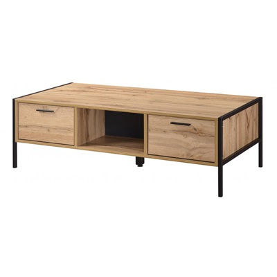 Product photograph showing Michigan Coffee Table 2 Drawer