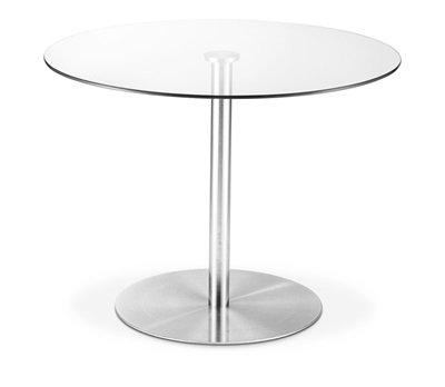 Product photograph showing Milan Round Dining Table
