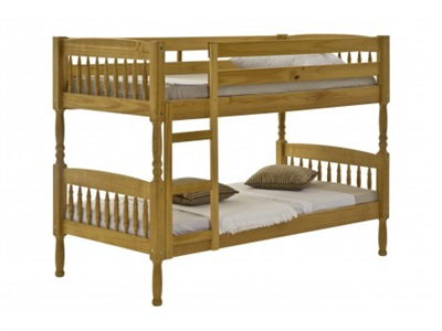 Verona Design Ltd Milano Bunk 3 Single Antique Bunk Bed