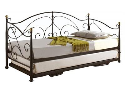 Birlea Milano Daybed 3 Single Cream Metal Bed