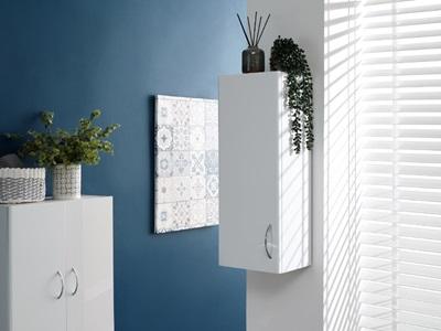 Product photograph showing Moritz Single Door Cupboard