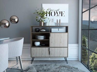 Product photograph showing Nevada High Sideboard