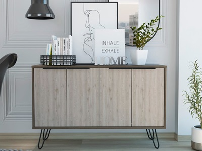 Product photograph showing Nevada Large Sideboard