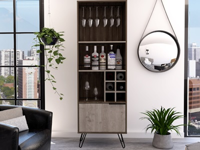 Product photograph showing Nevada Tall Drinks Cabinet