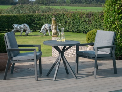 Product photograph showing New York 3 Piece Bistro Set