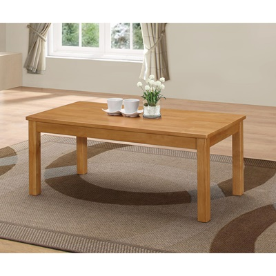 Product photograph showing New York Coffee Table Natural Oak