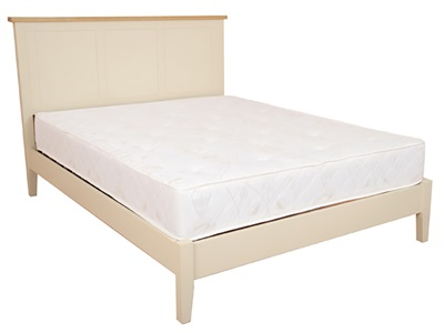 Balmoral Berkeley 3 Single Cream Bed Frame Only Wooden Bed