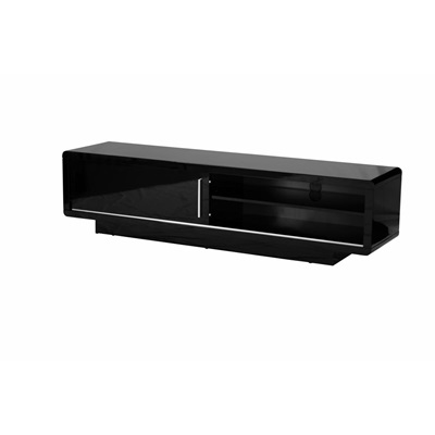Product photograph showing Newham High Gloss Tv Cabinet