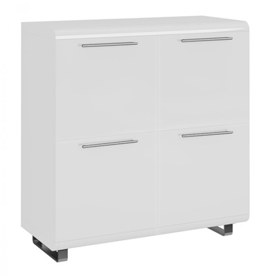 Product photograph showing Newline High Gloss Sideboard Small With 4 Doors