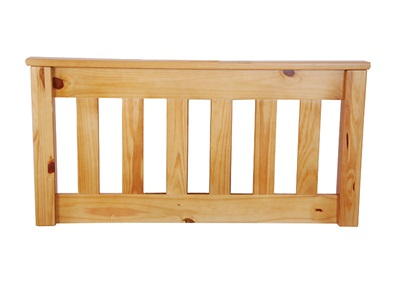 Balmoral Novaro 4 6 Double Light Pine Headboard Only Wooden Headboard