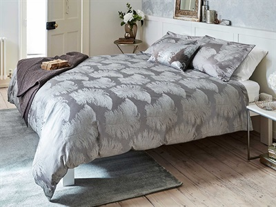 Product photograph showing Operetta Duvet Cover Mink