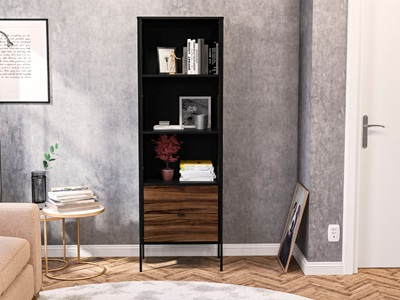 Product photograph showing Opus 2 Drawer Bookcase