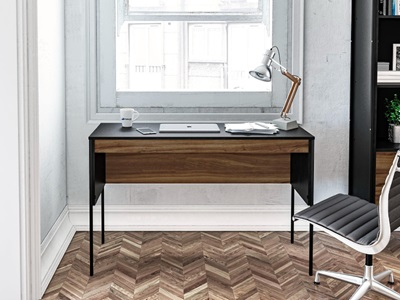 Product photograph showing Opus Study Desk