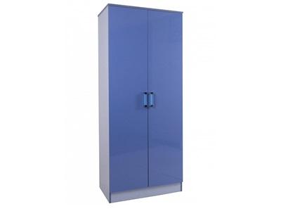 GFW Ottawa 2 Tone Blue Wardrobe 2 Tone Blue Wardrobe