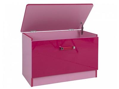 GFW Ottawa 2 Tone Pink Ottoman  2 Tone Pink Blanket Box