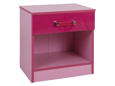 GFW Ottawa 2 Tone Pink Bedside Table 2 Tone Pink Bedside Chest
