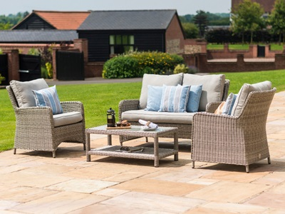 Product photograph showing Oxford Heritage Square Sofa Set