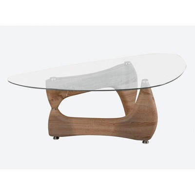 Product photograph showing Paco Glass Coffee Table