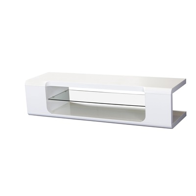 Product photograph showing Parker High Gloss Tv Cabinet