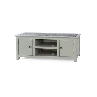 Product photograph showing Perth 2 Door Tv Unit