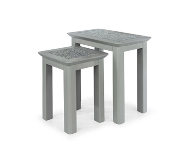Product photograph showing Perth Nest Of 2 Tables