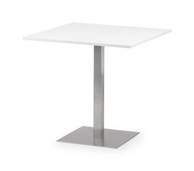 Product photograph showing Pisa Square Pedestal Table