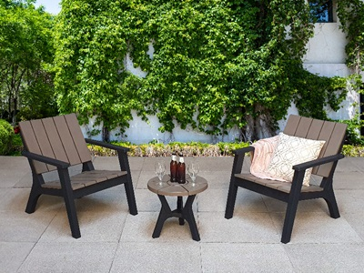 Product photograph showing Polly Bistro Set