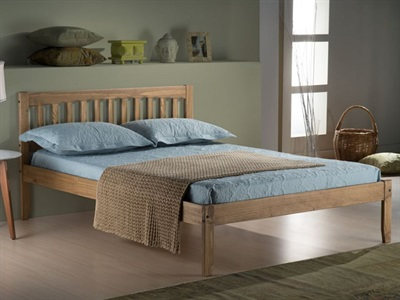 Birlea Porto 3 Single Pine Wooden Bed
