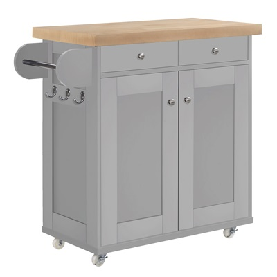 Product photograph showing Portland Kitchen Island